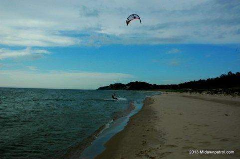 Kiteboarding Medbery Park