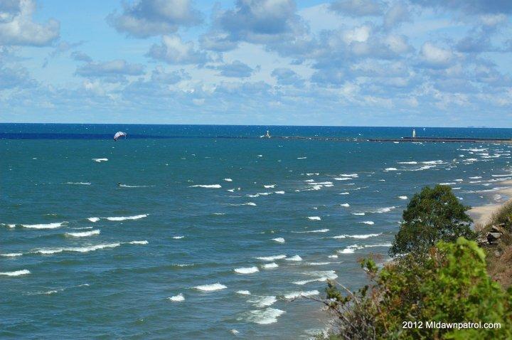 Kiteboarding Michigan