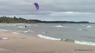 Manistee Kiteboarding on Labor Day