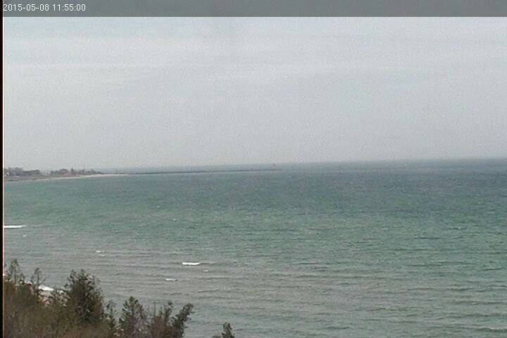 North of Manistee looking good at the moment.  SW at 20 to 22 knots