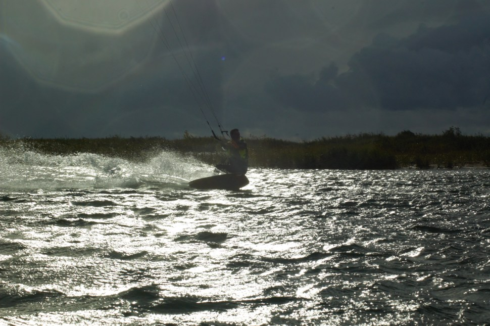 Shredding the river!