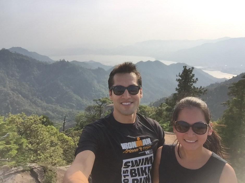 Hiking on Miyajima Island, Japan