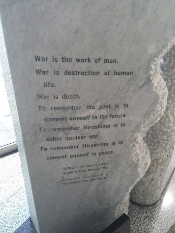 The Hiroshima Peace Memorial Museum