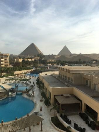 view of pyramids