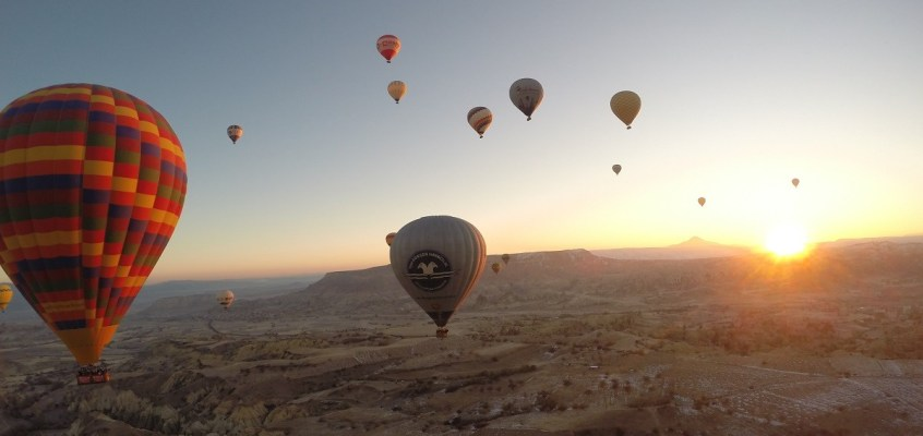 Flying High in Cappadocia