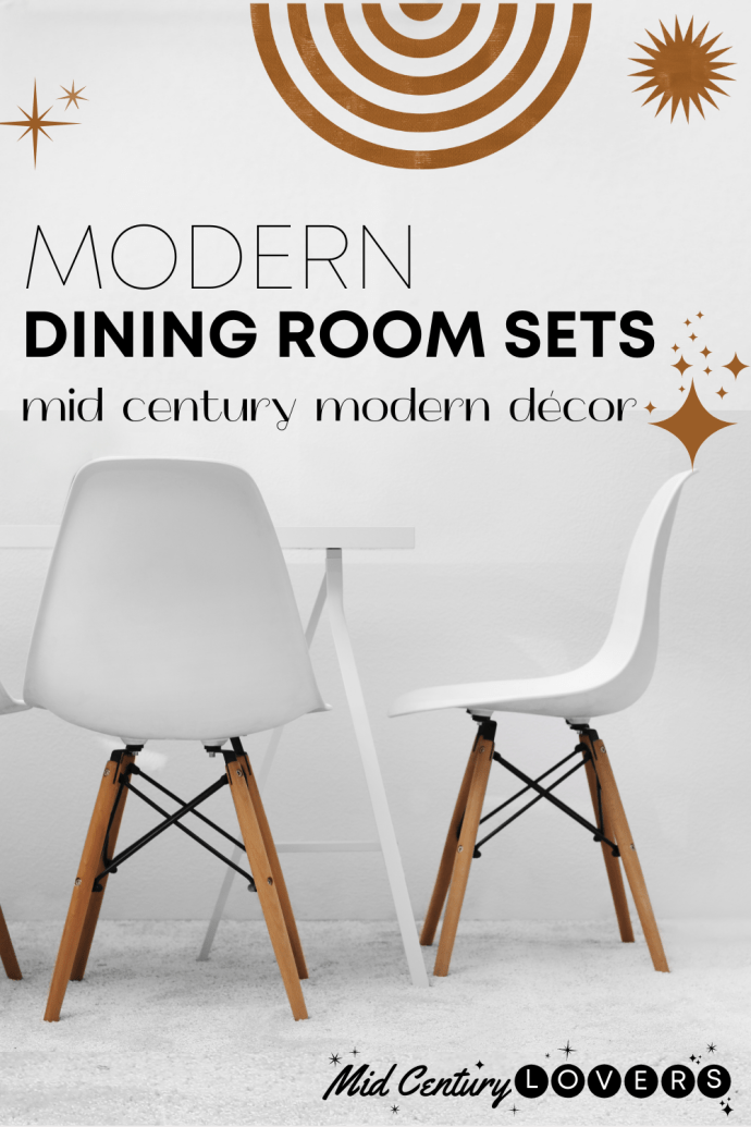 Classic Mid Century Dining style combines with modern design and functionality for entertaining in your home. Top picks for your dining room.