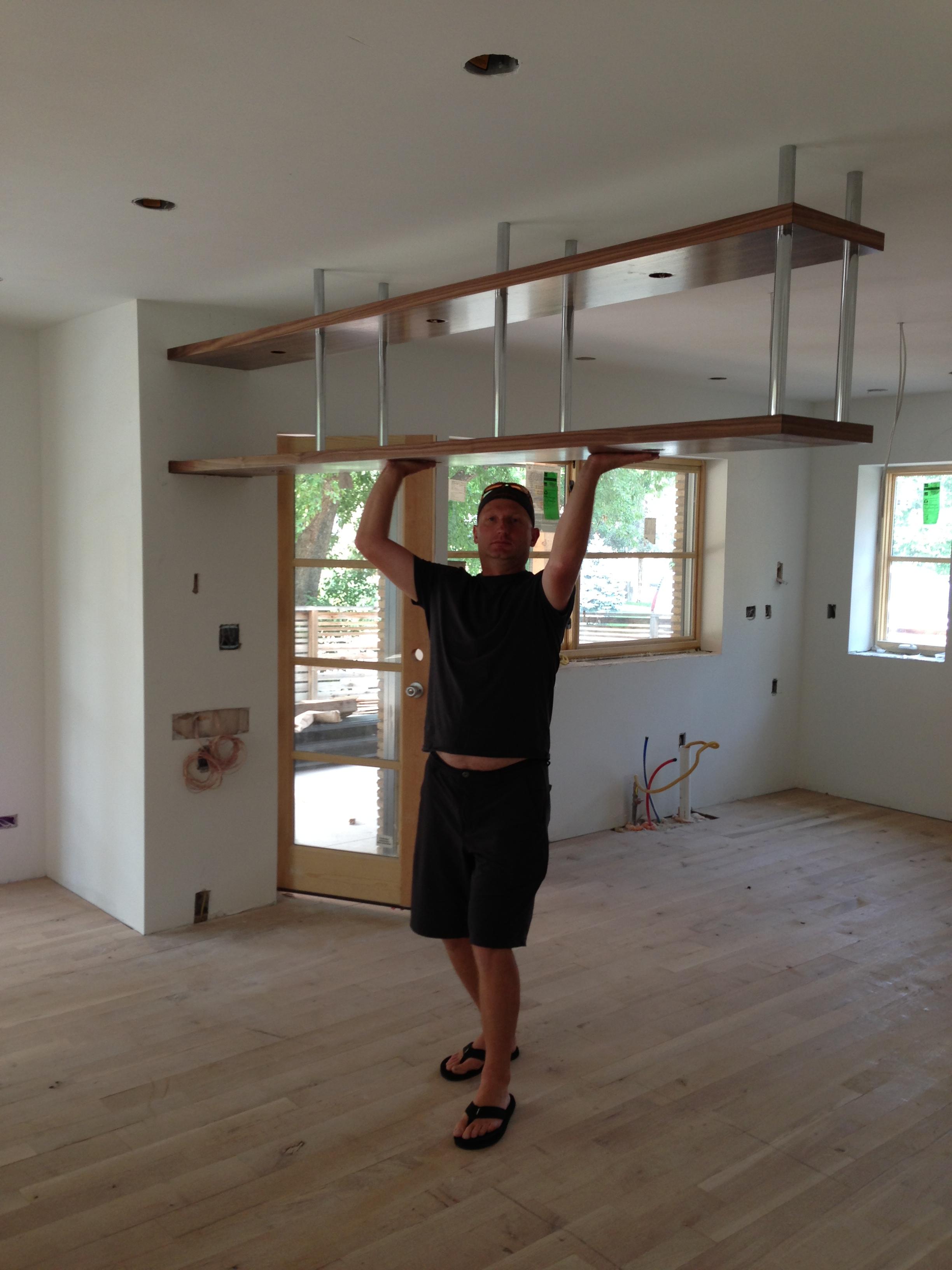 Hanging Kitchen Cabinets Midcenturymess