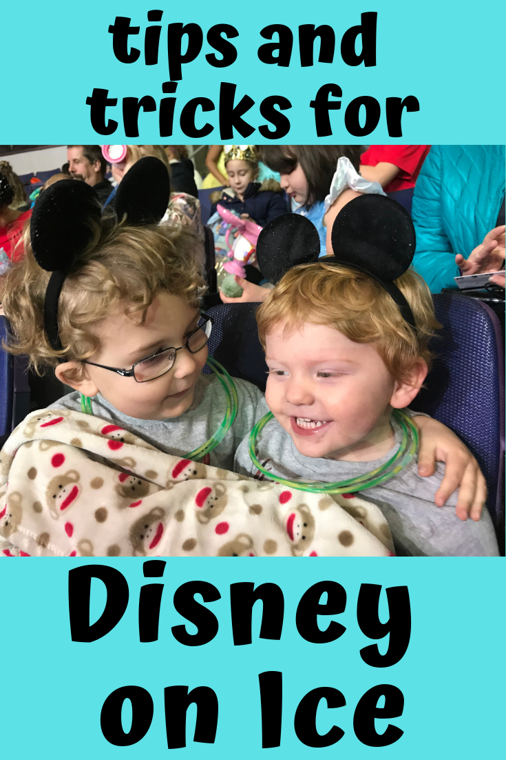 tips for Disney on Ice