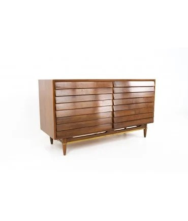 mid century modern lowboy dressers for