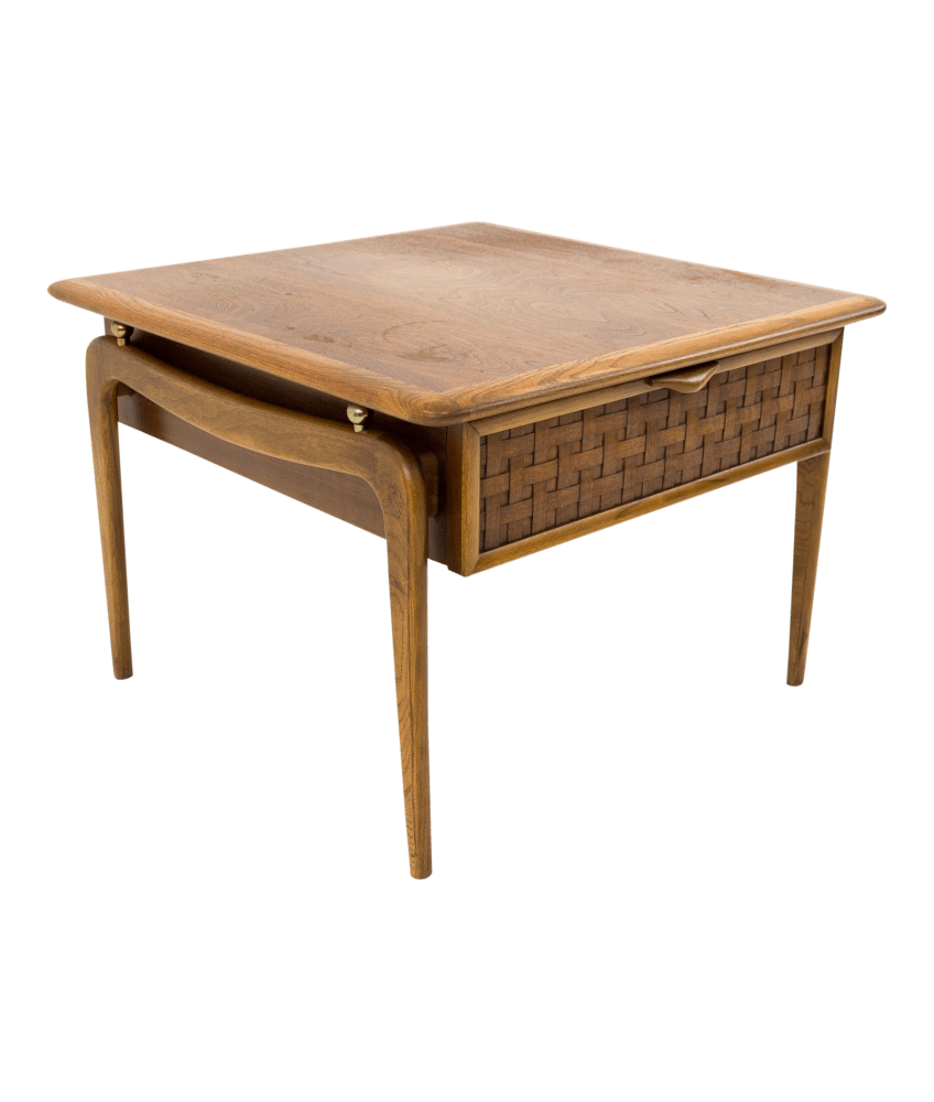 warren church for lane perception mid century nightstand side end table