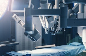 robot in the operating room