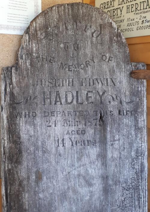 Rare Wooden Grave Marker Midcoaststoriescom