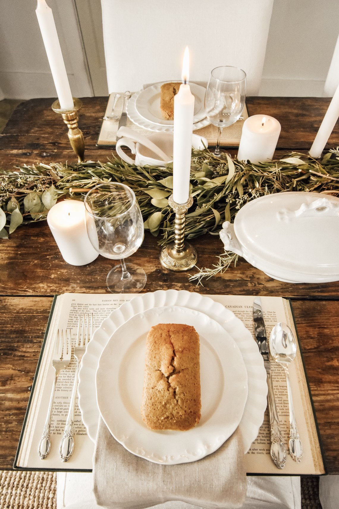 Timeless Holiday Tablescape