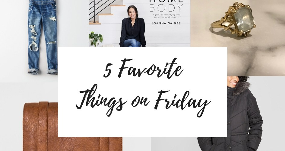 5 Favorite Things On Friday: Christmas Gifts