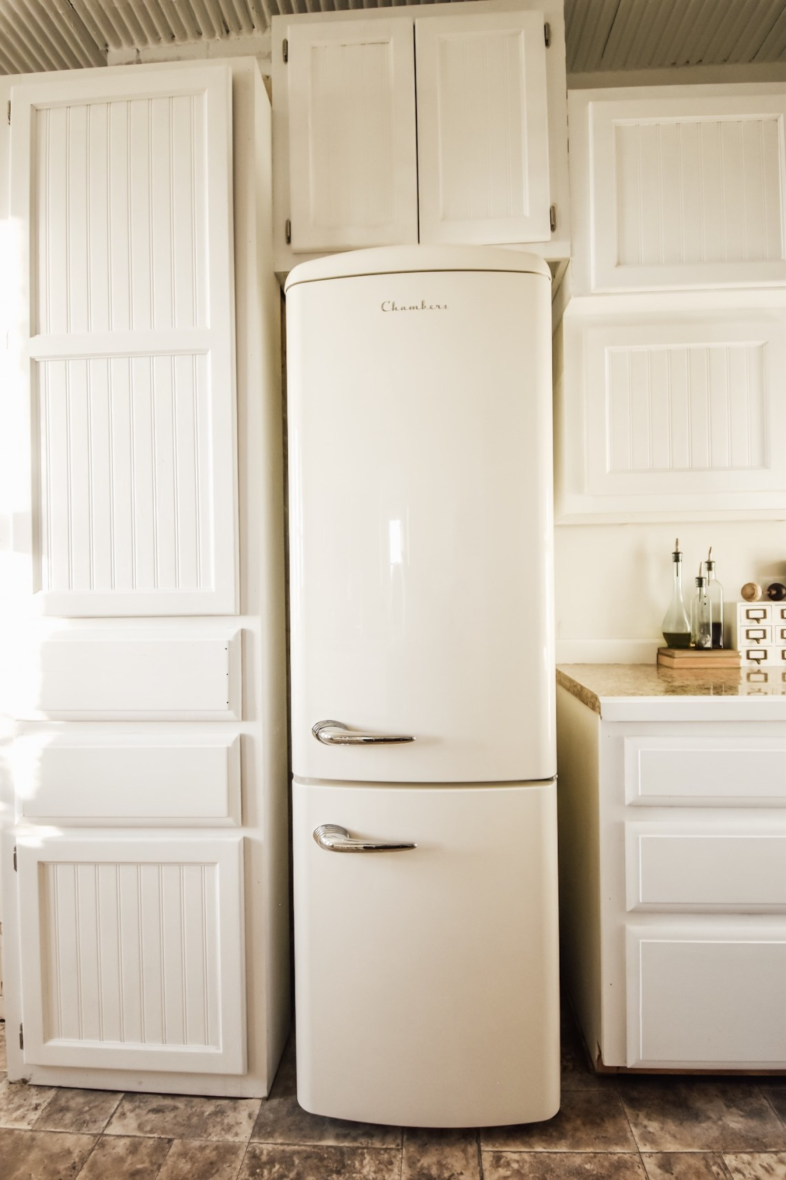 Our New Vintage Inspired Refrigerator