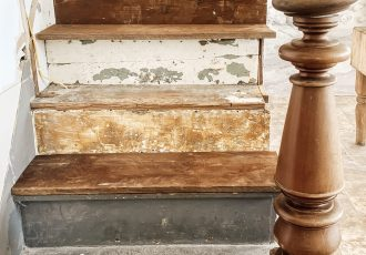 DIY Farmhouse Staircase Renovation