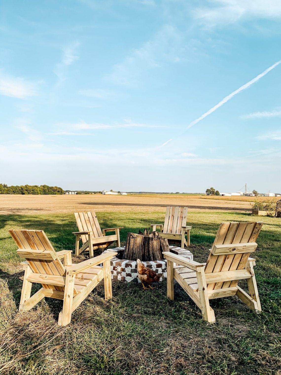 DIY Adirondack Chairs