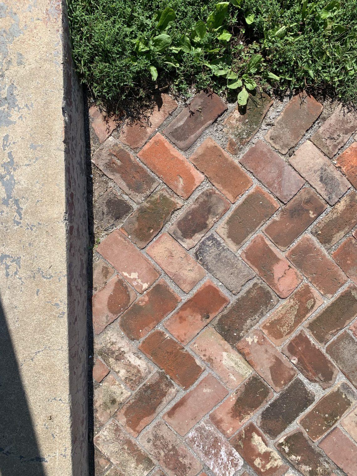DIY Brick Paver Walkway
