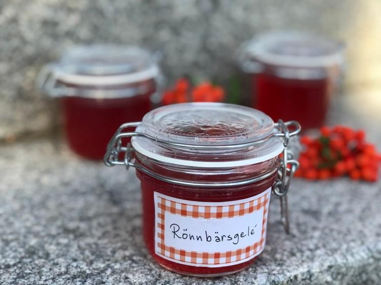 recept rönnbärsgelé