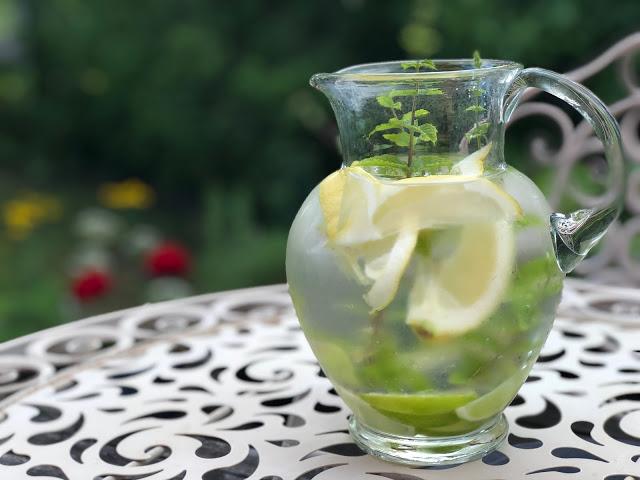 Recept på smakfullt vatten