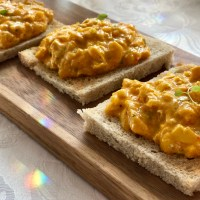 Coronation chicken - kycklingröra med curry