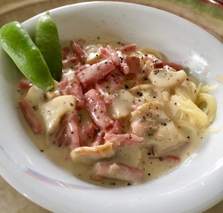 Vardagsmat pastasås skinksås skinka studentmat