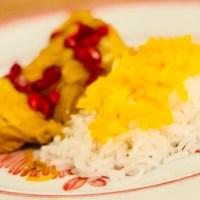 Persisk kyckling med saffransris