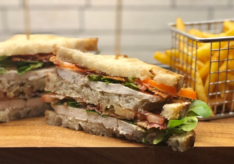 Club sandwich recept kyckling original