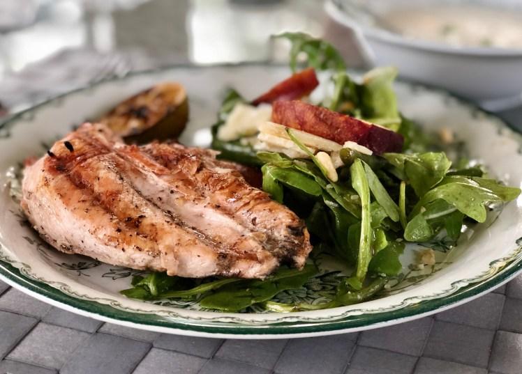 Grillad kyckling kycklingfilé marinad örter kryddor vitlök recept