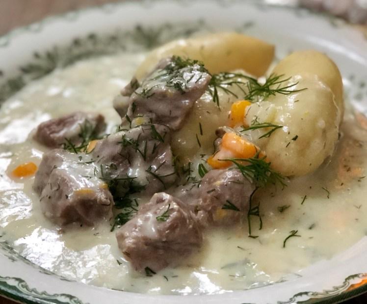 Recept dillkött kokt kalv i dillsås lamm husmanskost