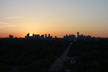 View from Port Credit at Sunset