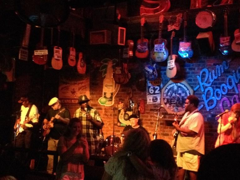Beale St jam sessions