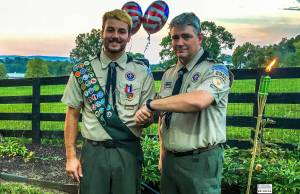 Sawyer Long, Jay Hubbard - Scoutmaster toorp 2950