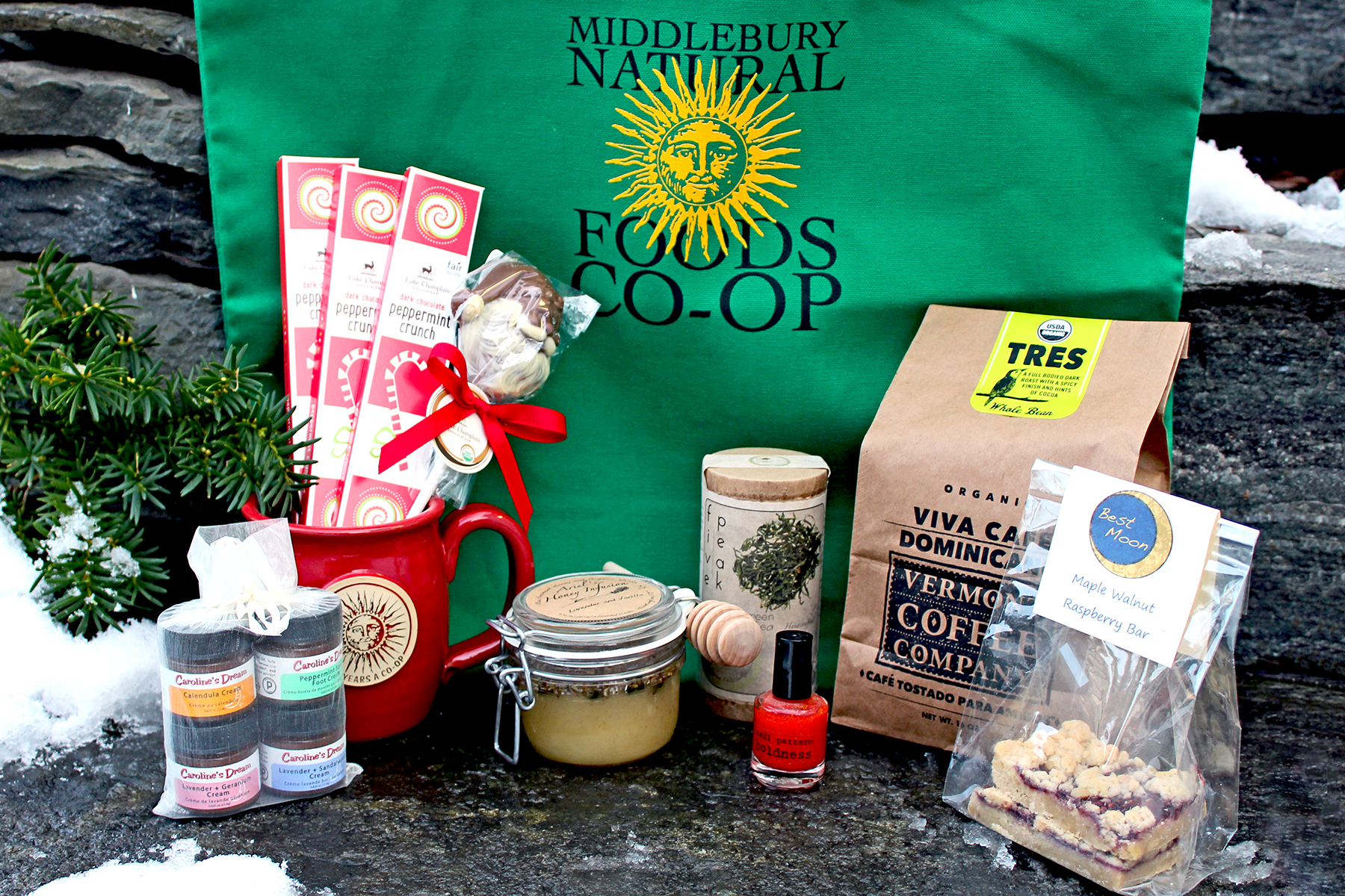 Local Holiday Gift Basket Ideas Middlebury Food Co Op