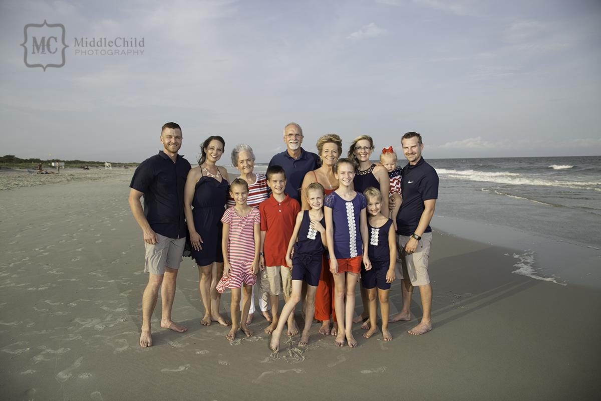 myrtle beach family portraits
