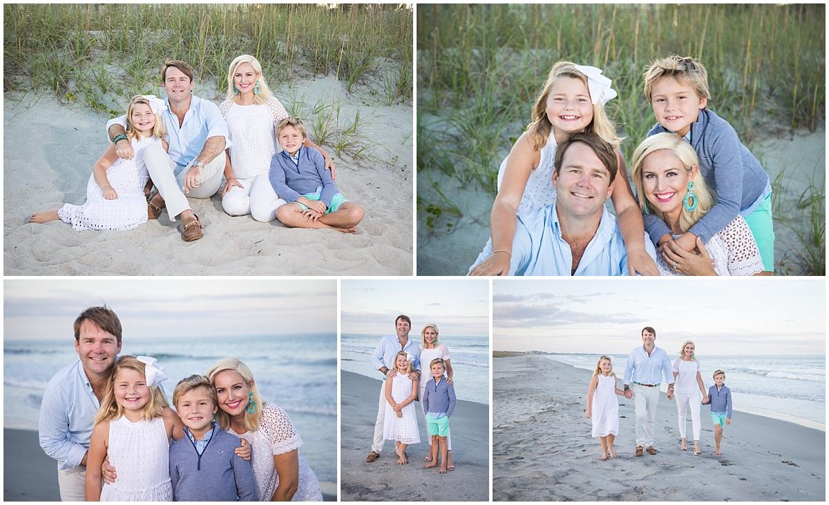 surfside beach family photo session