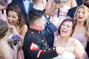 military wedding photos
