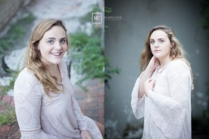 garden city senior portraits