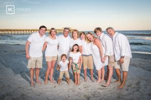 family beach photographer