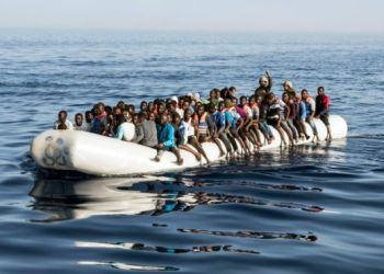 Migrant boats are regularly intercepted by the Libyan coastguard/AFP