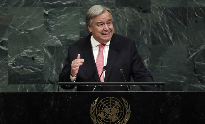 United Nations Secertary- General Antonio Guterres /AP