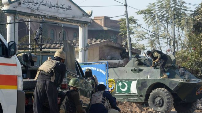 The Pakistani Taliban said they had carried out the attack