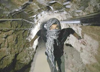 In the past, smuggling goods through the tunnels was the most lucrative business in Gaza. (Reuters)