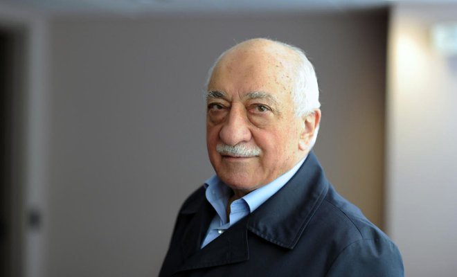 A handout picture released by Zaman Daily shows exiled Turkish Muslim preacher Fethullah Gulen. (AFP/Zaman Daily/Selahattin Sevi)