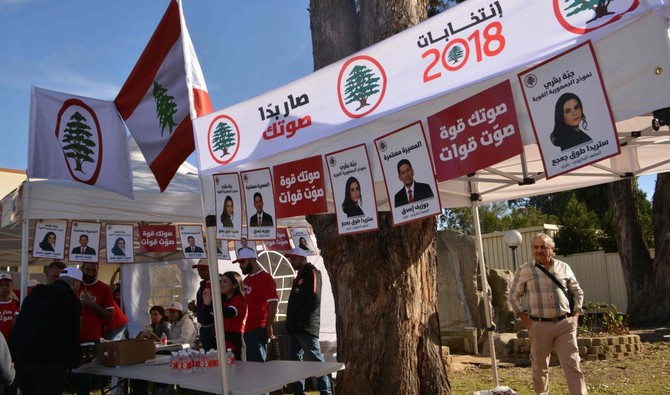 Voting in Lebanon's first parliamentary polls in almost a decade kicked off in Australia with thousands of expats making their choice in the historic election. (AFP)