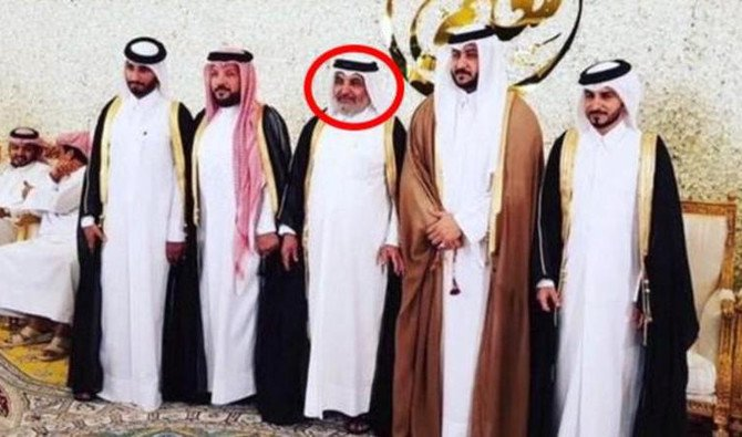 Abdulrahman Al-Nuaimi,center, was among ten named in Qatar's terror list released in March.