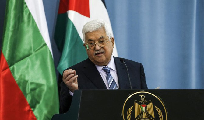 Mahmoud Abbas was accused of being a Holocaust denier (AFP)