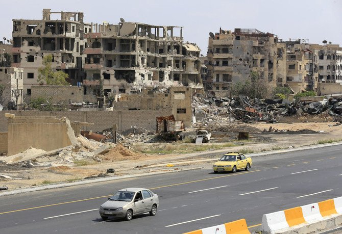 Daesh from the area returns control of Damascus to Syrian regime forces (Louai Beshara/AFP)