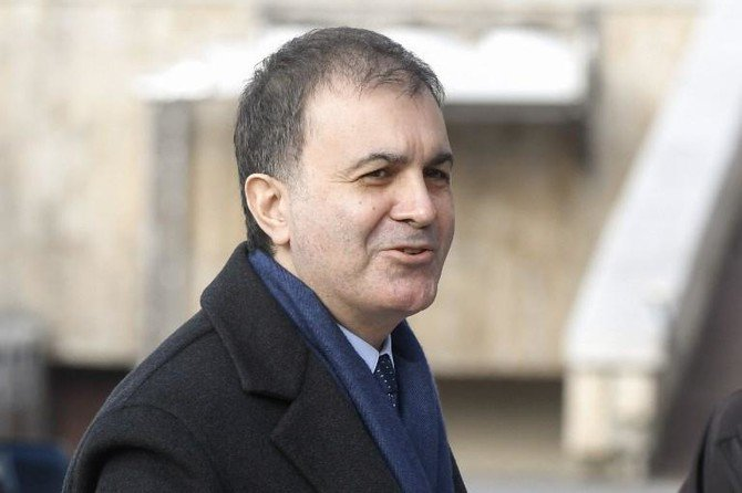 "Turkish European Union Affairs Minister Omer Celik said the Greek legal system has ""ruled to protect the terrorists who attempted a coup to overthrow Turkish democracy"". (AFP)"