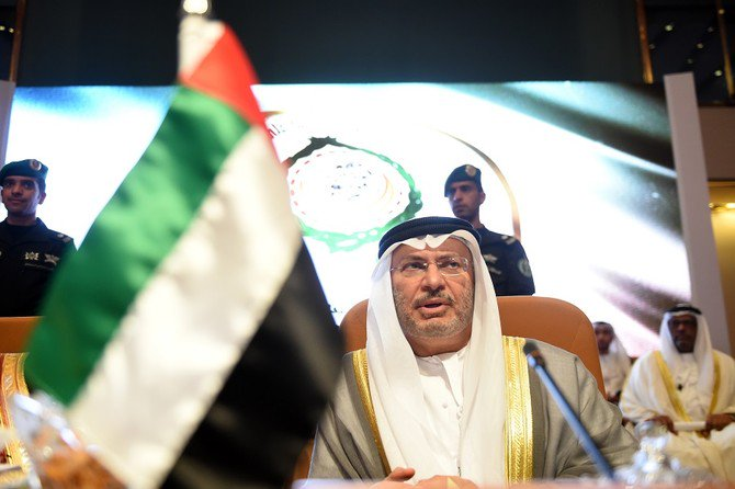 Anwar Gargash, the UAE Minister of State for Foreign Affairs, said that his country is deeply concerned by reports coming out of Hodeidah. (File Photo: Fayez Nureldine/AFP)